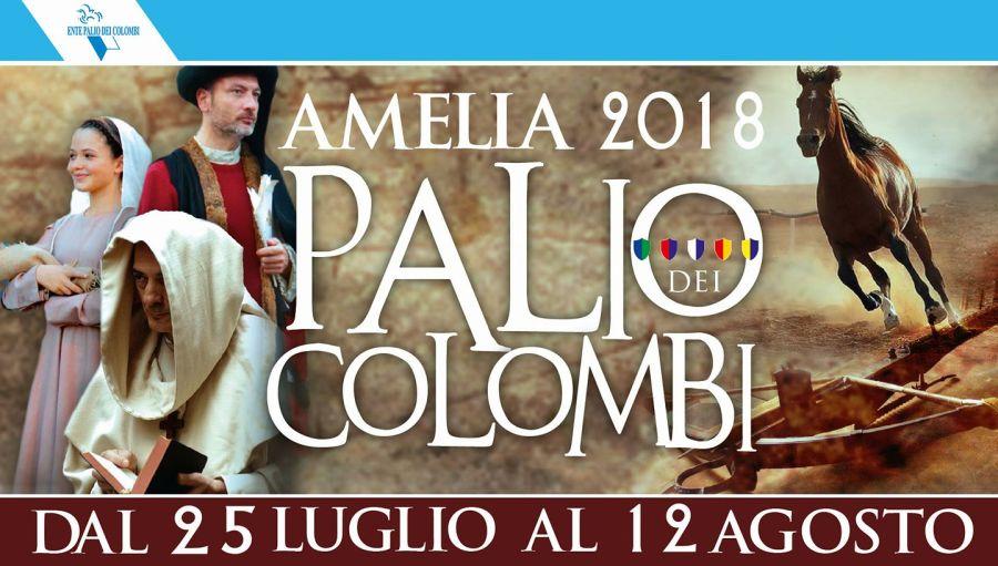 Ad Amelia prende il volo la 43A edizione del Palio dei Colombi tra arte e tradizione