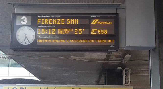 Incontro in Prefettura. Ecco le richieste avanzate dal Comitato pendolari Roma-Firenze