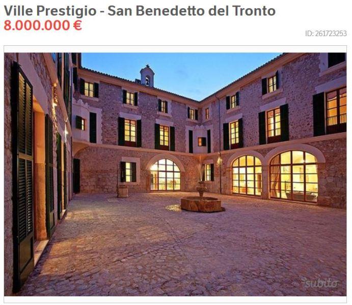 Dimore storiche, su Subito oltre 1.000 annunci per residenze d'epoca sopra il milione di euro