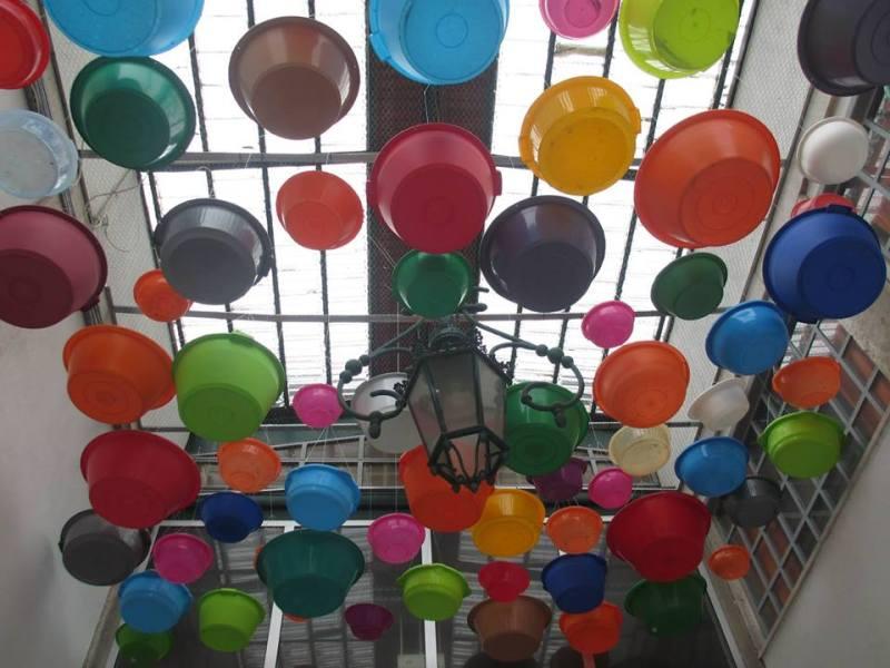 Un soffitto di colori