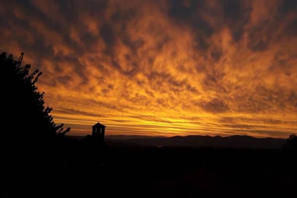Colori d'alba a Porano