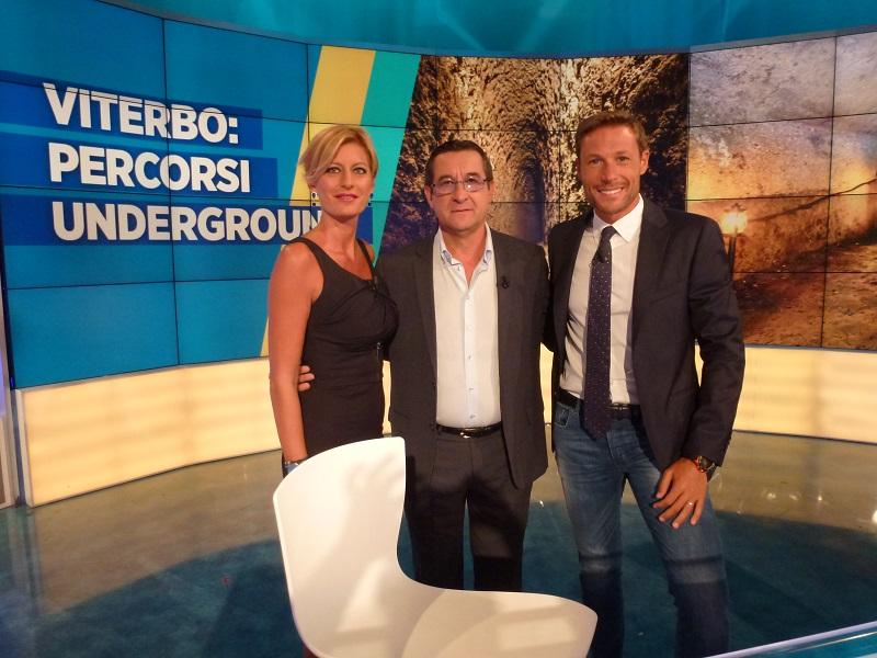 La Viterbo sotterranea famosa nel mondo con due speciali di Radio Vaticana e Rai Uno