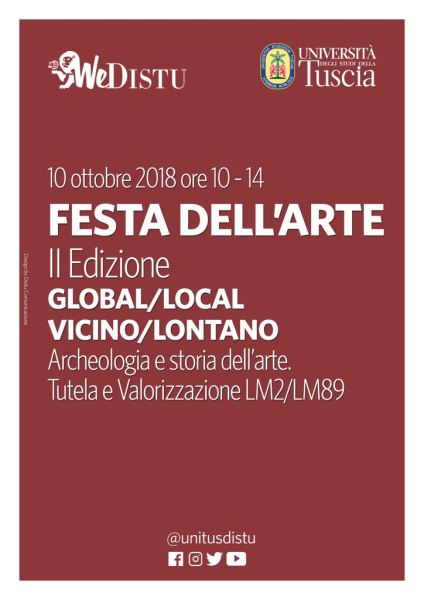 Global/Local, Vicino/Lontano, 2A Festa dell'arte all'UniTus