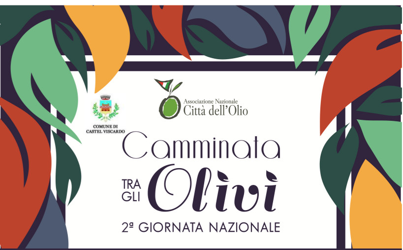 Castel Viscardo partecipa alla II Giornata Nazionale della Camminata tra gli Olivi
