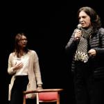 Giornata Internazionale contro la violenza sulle donne, al Mancinelli platea di giovani per la storia di Lucia Annibali