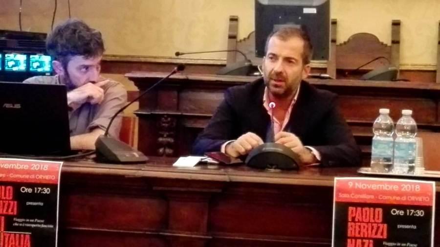 """Orvieto accoglie Paolo Berizzi de """"La Repubblica"""" e il libro """"Nazitalia"""""""