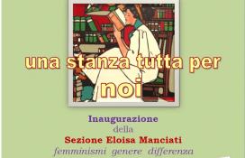 "Alla biblioteca Fumi si inaugura la sezione ""Eloisa Manciati – femminismi genere differenza"""