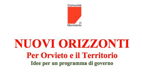 Iniziativa di Com: Nuovi Orizzonti. Per Orvieto e il Territorio
