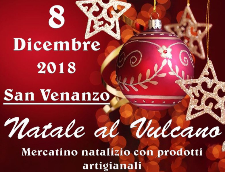 Natale al Vulcano, mercatino natalizio con prodotti artigianali a San Venanzo