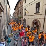 Ottimo clima e grande partecipazione per la tappa-trekking Radicofani-Acquapendente