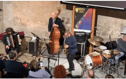VIDEO – Ujw: Rosario Giuliani Quartet