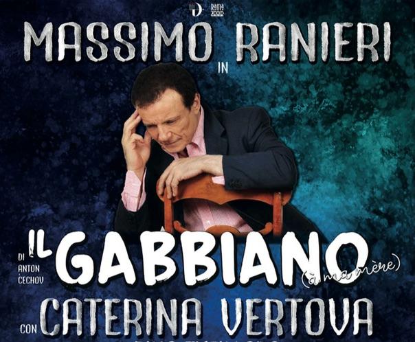 """In Prima Nazionale al Teatro Mancinelli Massimo Ranieri interpetra """"Il Gabbiano"""" di Cechov"""