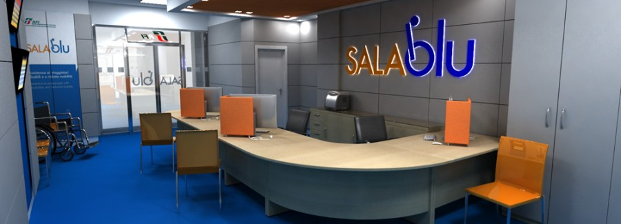 Sale Blu per assistenza ai viaggiatori, salgono a 300 le stazioni ferroviarie servite. C'è anche Orvieto