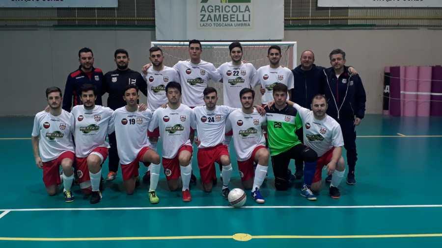 Orvieto Fc, ottimo risultato per il futsal maschile: 9-0 sul Ponte San Lorenzo