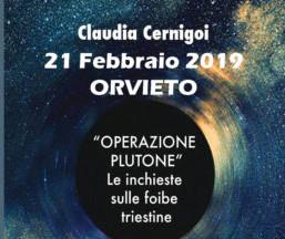 """""""Operazione Plutone. Le inchieste sulle foibe triestine"""", il libro di Claudia Cernigoi"""