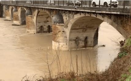 VIDEO – Paglia e affluenti in piena: Ecco la situazione
