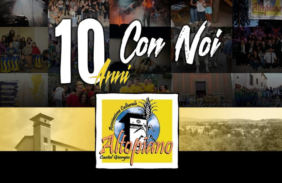 """A Castel Giorgio """"10 anni Con Noi"""""""