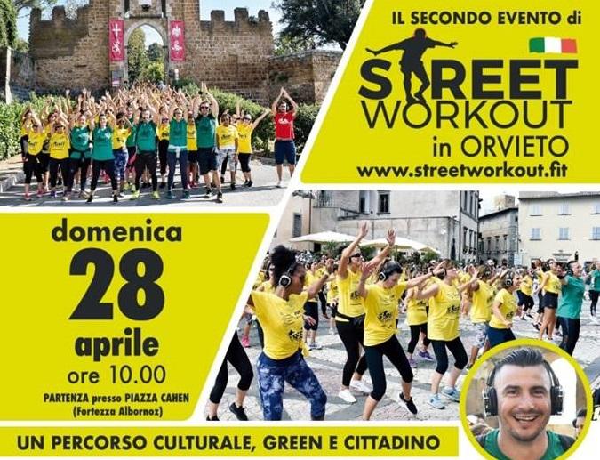 Street Work Out nel centro di Orvieto, nel nome dello sport e dell'inclusione