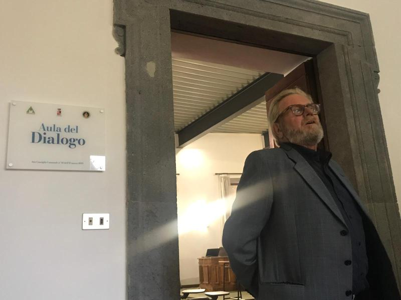 """Da aula delle udienze ad """"Aula del Dialogo"""", Bracaletti: """"E' un tassello nel progetto per Orvieto Città del Dialogo"""""""