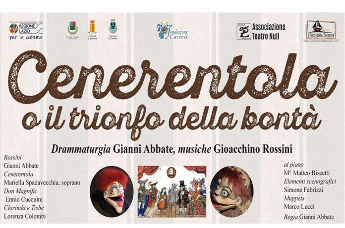Gianni Abbate riscrive la Cenerentola di Rossini: debutto a Sipicciano
