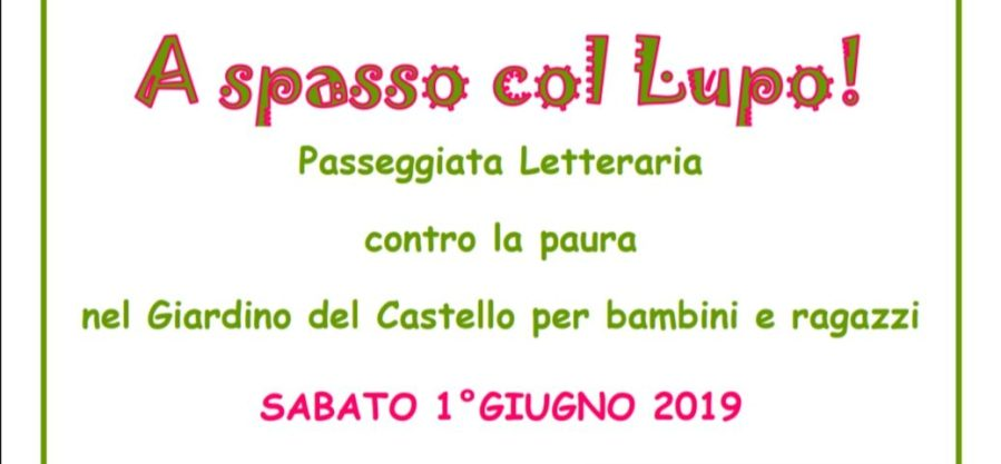 """""""A spasso col Lupo"""" a Castel Viscardo per Il Maggio dei Libri"""