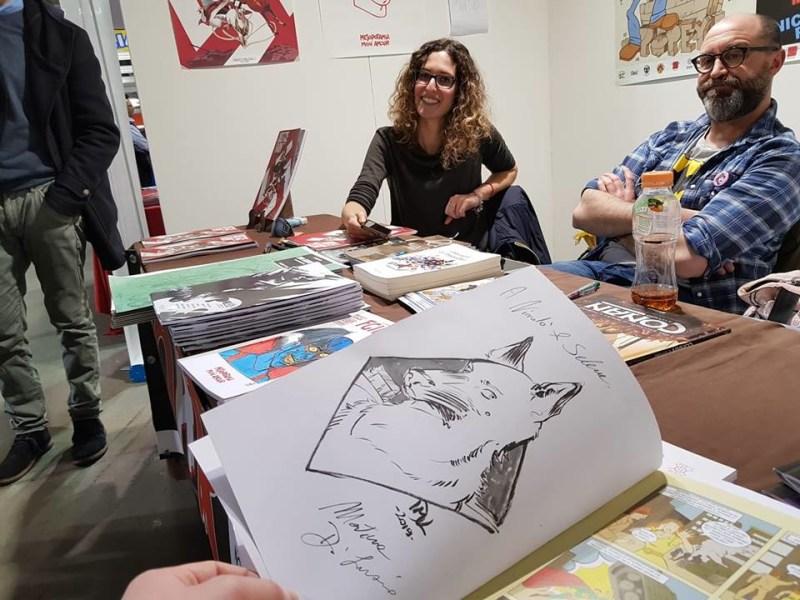 """""""Justice Farm"""" il graphic novel di marco Cannavò e Martina Di Luzio allo Spazionauta"""