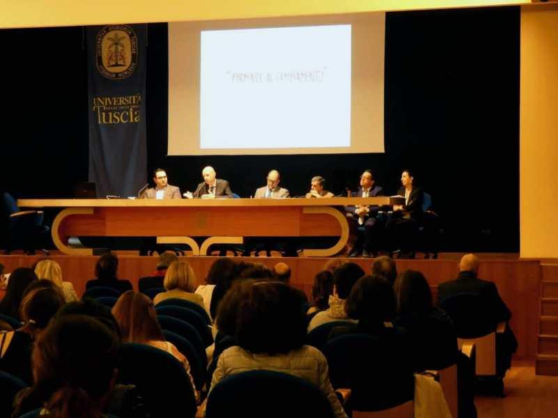 Formatori in formazione all'Università della Tuscia, quasi 200 presenze