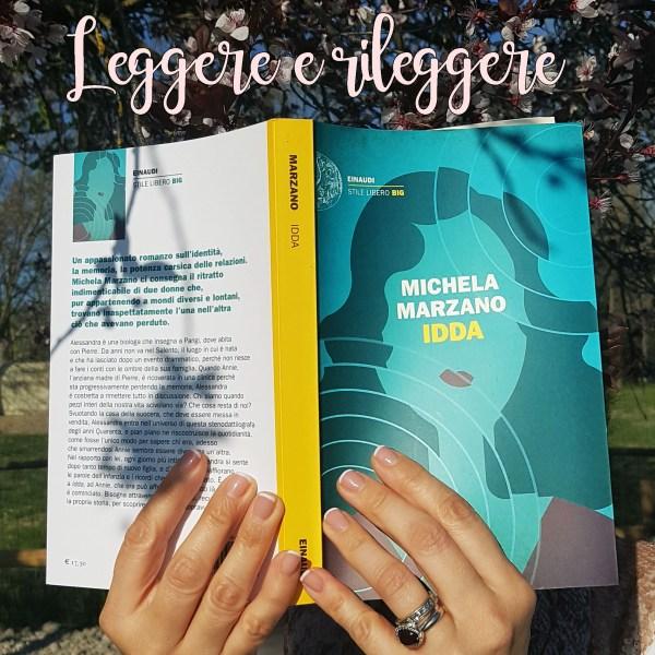 """#StoriaSceltaDa Leggere e Rileggere blog: """"Idda"""" di Michela Marzano"""