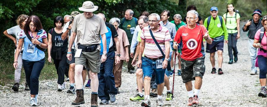 Trionfo di presenze per la prima edizione della Monte Rufeno Marathon a Trevinano