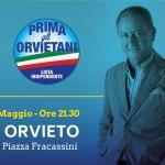 Il candidato Franco Barbabella chiude la campagna in Piazza Fracassini