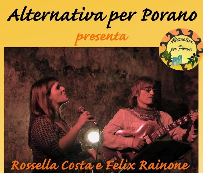 """Appuntamento musicale con """"Alternativa per Porano"""""""