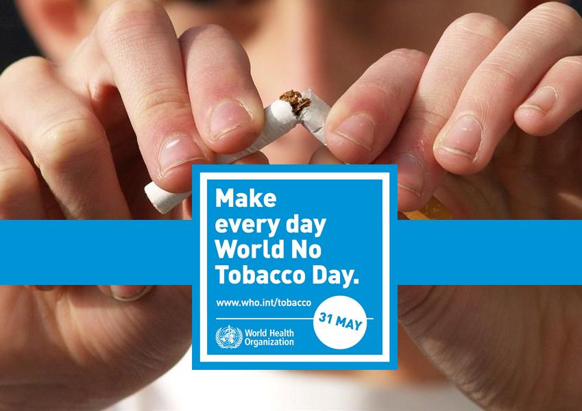 Giornata mondiale senza tabacco, l'impegno della Usl Umbria2 per una comunità libera dal fumo