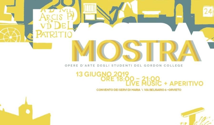 Orvieto sotto una nuova prospettiva, mostra Collettiva d'Arte degli studenti del Gordon College