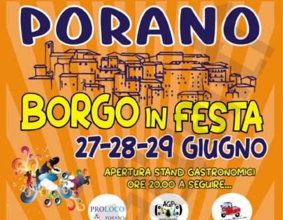 A Porano torna Borgo in Festa