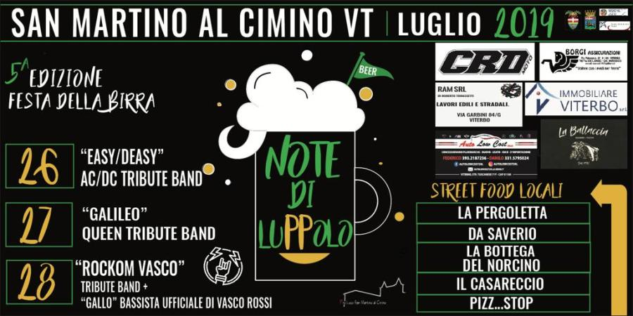 """""""Note di Luppolo"""", a San Martino il Festival delle birre artigianali"""