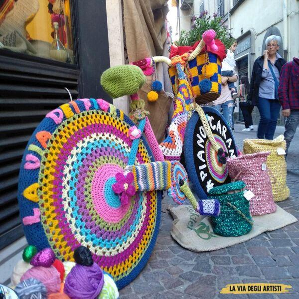 Musica, magia e colori per la 2A edizione della Via degli Artisti di Viterbo a via Saffi