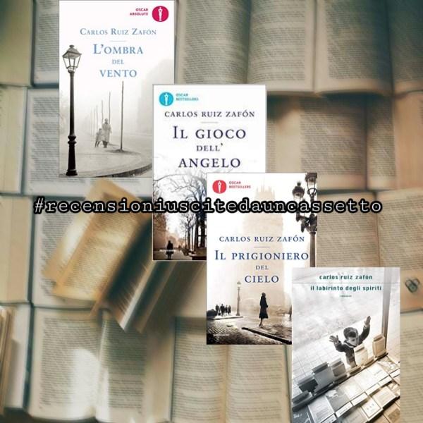 #recensioniuscitedauncassetto di Andrea Laprovitera: Il Cimitero dei Libri Dimenticati di Zafon