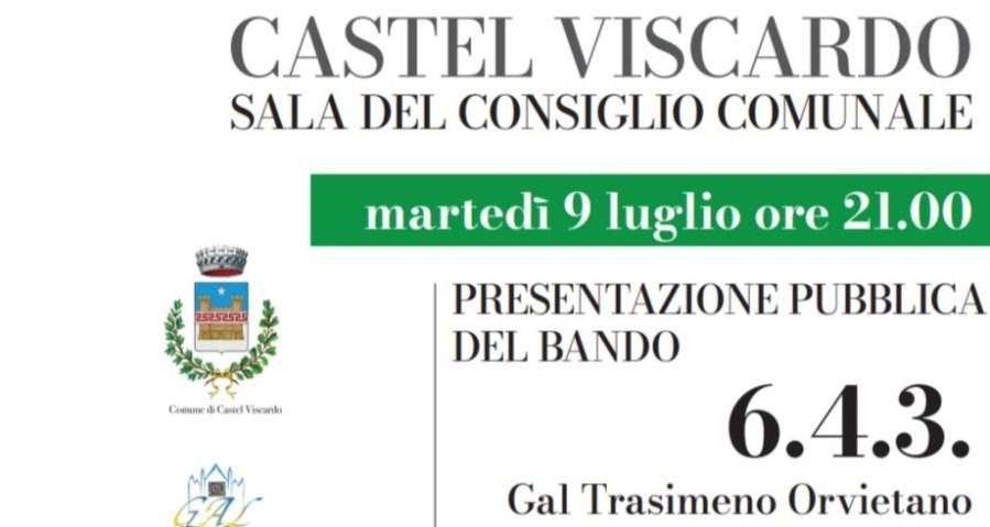 Bando Gal attività extra-agricole, presentazione a Castel Viscardo
