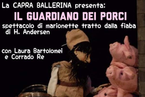 """One – SPettacolo di marionette """"Il Guardiano dei Porci"""""""