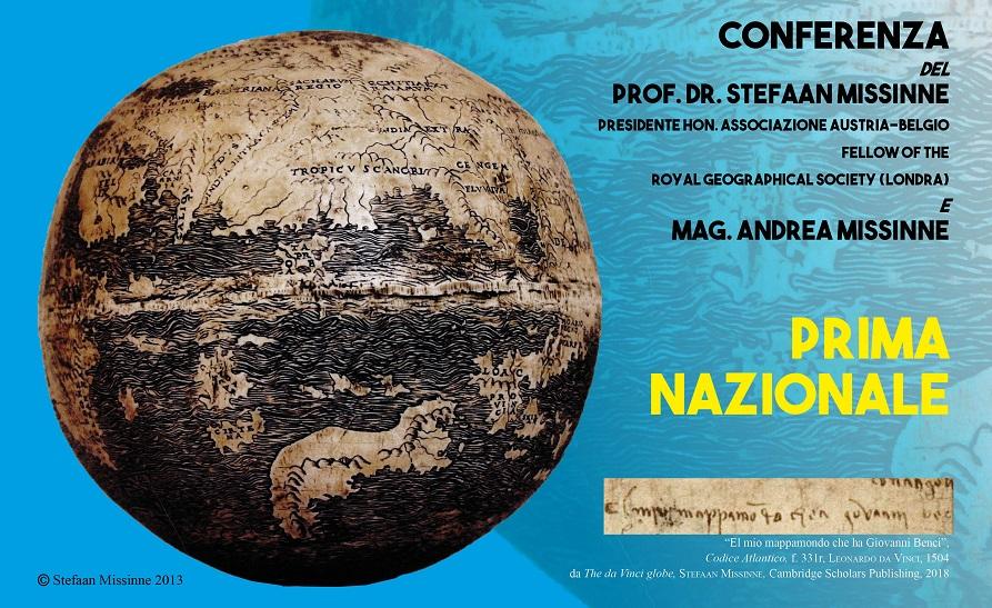 """A Civitella del Lago """"Il mappamondo di Leonardo da Vinci del 1504"""""""