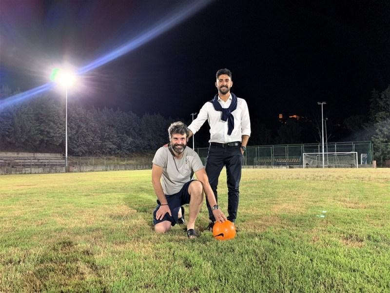 """Messa in sicurezza e luci al led su campo sportivo di Montecchio. Gori: """"Attività sportiva cardine della nostra comunità"""""""