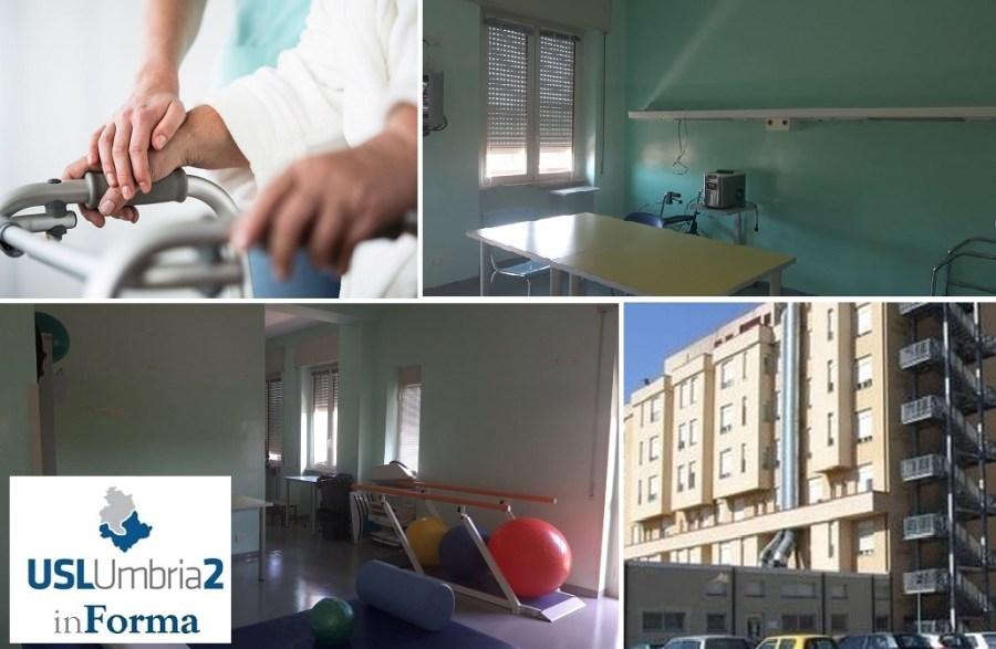 Ospedale di Orvieto, completati gli interventi strutturali ed impiantistici nella struttura di Riabilitazione Intensiva