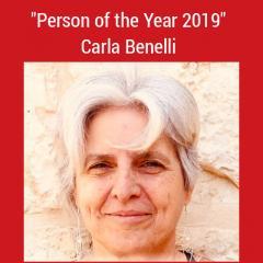 La storica dell'arte Carla Benelli riceve il Premio Internazionale per la Salvaguardia del Patrimonio Culturale 2019