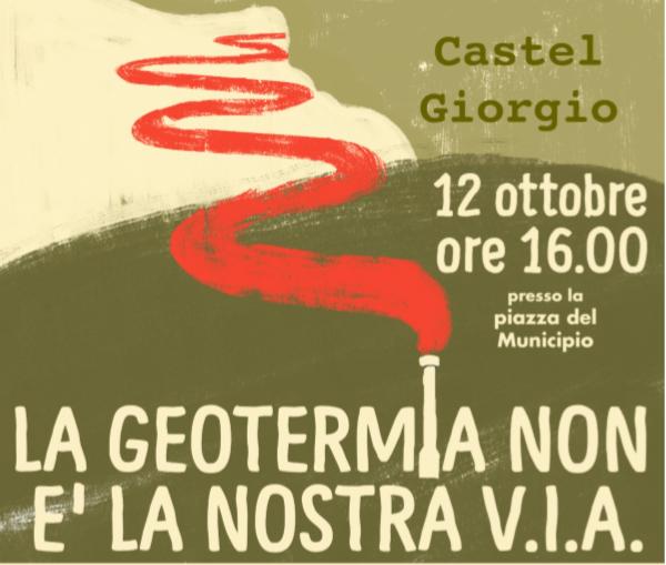 A Castel Giorgio nuova mobilitazione contro la geotermia