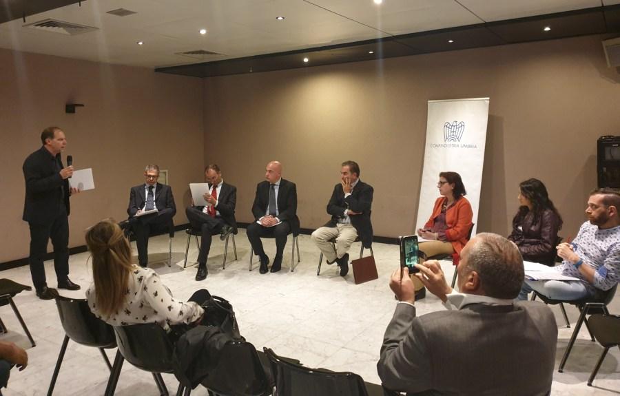 """Confindustria Umbria incontra i candidati alle Regionali, Lanzi: """"Garantire all'orvietano una nuova fase di sviluppo economico"""""""