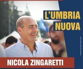L'Umbria Nuova, Zingaretti a Orvieto