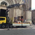 Ritornano in Duomo le statue di Apostoli e Santi. A marzo già collocato il gruppo dell'Annunciazione di Mochi