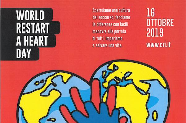 """World Restart A Heart Day"", a Palazzo dei Sette con la Croce Rossa"