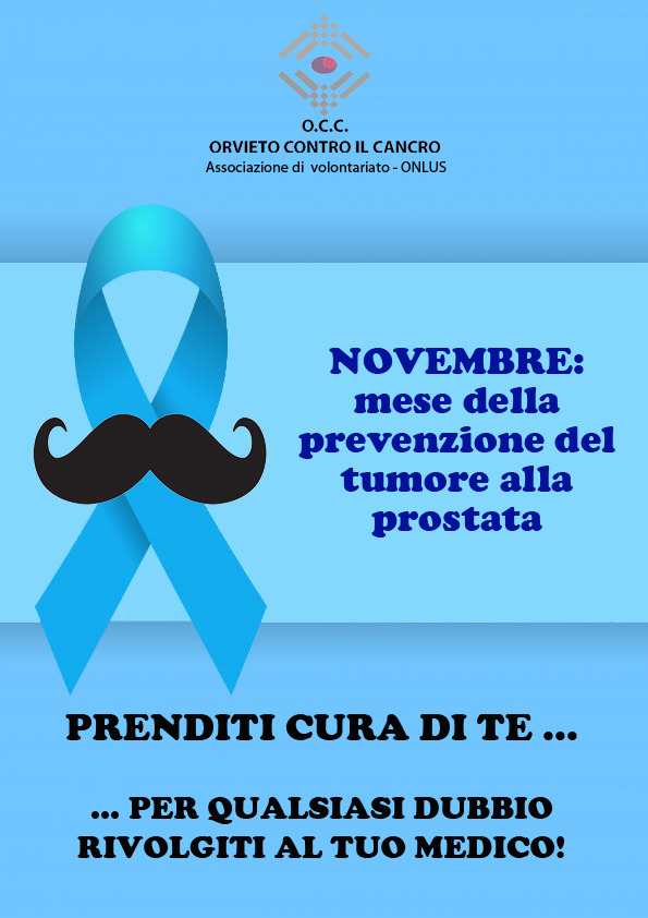 mese prrvenzione prostata novembre 2020 para