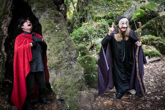 Il bosco del Sasseto tra elfi, streghe e re: fino al 5 gennaio 2020 un divertente percorso itinerante